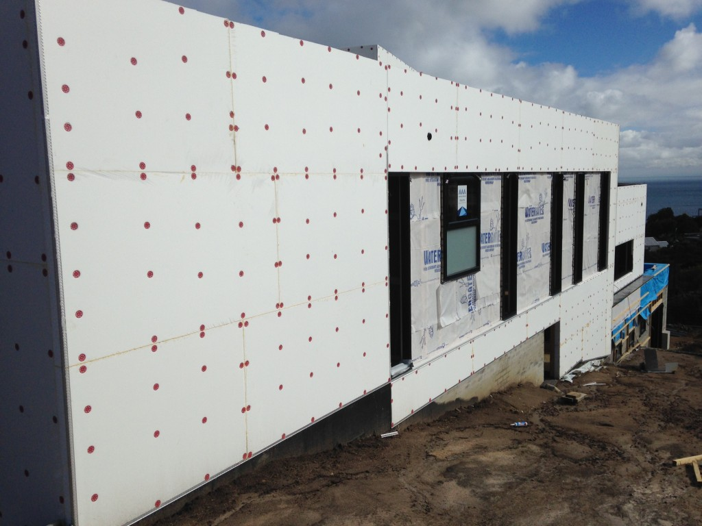 Polystyrene Wall Cladding Installation by Zaks Render